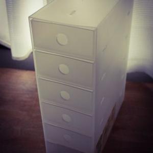 無印良品のポリプロピレン小物収納ボックス6段・A4タテ