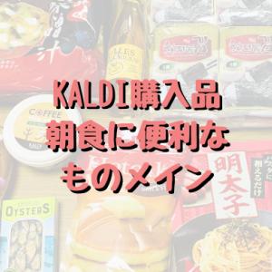 【カルディ購入品】朝食に便利なものメイン