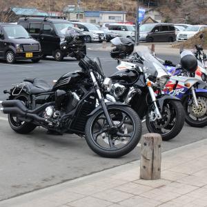 ★バイクで秩父の氷柱を・・・★
