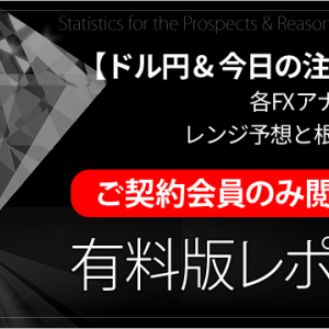 【15日 ドル円FX 有料レポート】アナリスト予想レンジ 根拠と解説