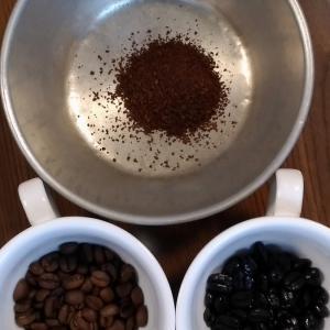 今日のコーヒーとお供