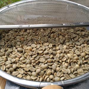コーヒー自家焙煎(手動)