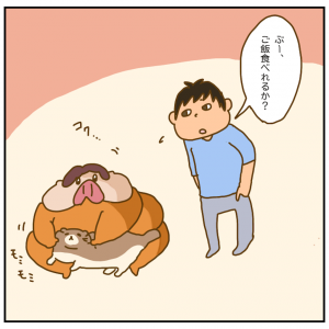 ぶたと進化する胃袋