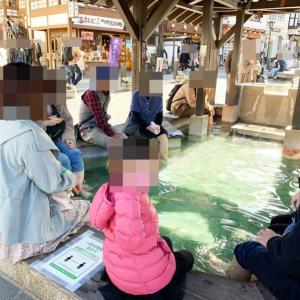 草津温泉の足湯は混雑する?待ち時間は?全4箇所土日祝日混雑状況体験レポ