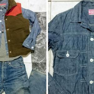 「LEVIS・507」2ndジャケットで「春コーデ」を作る。 2009年製・リーバイス シャツジャケットの着こなし方