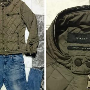 「ZARA(ザラ)」ライダースジャケットで「冬コーデ」を作る。 冬物キルティングジャケットの着こなし方