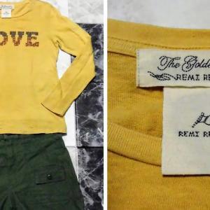 「レミレリーフ」の刺繍入りのTシャツを使って「秋コーデ」を作る。 夏コーデとサイズ感も計測してみました。 REMI RELIEF