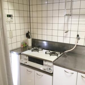 【キッチン公開1】何にもなくない我が家の【コンロ周り】