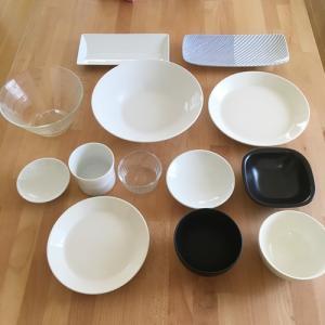 【キッチン公開4】何にもなくない我が家の【食器】