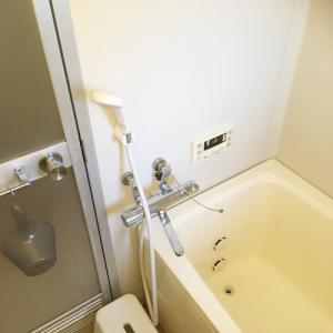 【お風呂公開】ほぼ何にもない我が家のお風呂
