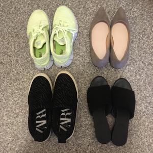 私の少ない靴。4足→3足へ。