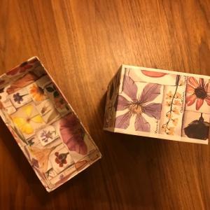 可愛い箱ができました。