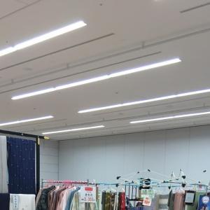 『浜松町 今昔きもの大市2nd』本日搬入、明日の開催に向けて大量の着物展示終了