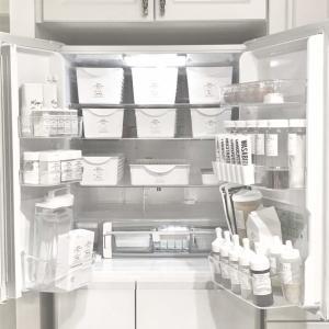 冷蔵庫『ホワイト化』100均総額は?