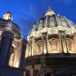 バチカン サンピエトロ大聖堂のクーポラに潜入