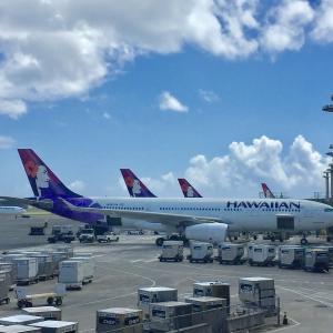 ハワイアン航空 A330 ビジネス 〈乗った瞬間からハワイ&トランプホテル滞在〉