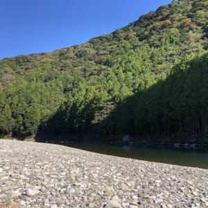 晩秋の古座川でリバーツーリング&テント泊。川旅のロマンを堪能してきた。【中編】