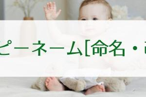 【ハッピーネーム(命名・改名)】で開運!〜名前が人生に運を与える〜