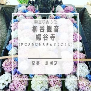 【柳谷観音 楊谷寺】花手水がきれいな眼病平癒のお寺
