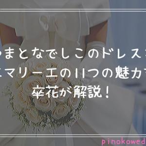 やまとなでしこのドレス*エマリーエの11つの魅力を卒花が解説!