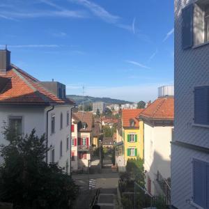 こちら、スイスの空も、猫たちも平和です。