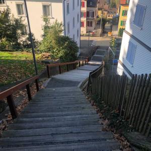 120以上もの階段!東スイスの階段の街