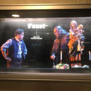 グノーのオペラ Faust ファウストを観に行ってきました♪