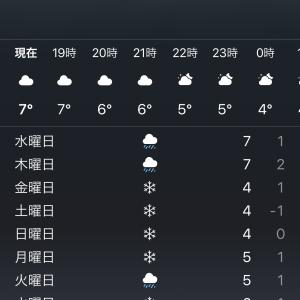 お天気予報と体調不良