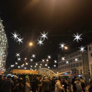星の街のクリスマスマーケット