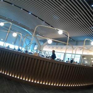 ローマ・ フィウミチーノ空港プレミアムラウンジ  イタリアなのに、なぜ?