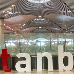 Istanbul Airport  イスタンブール新空港   からTaksimタクシムへ