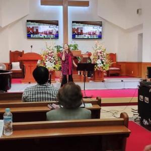 純福音名古屋教会主日礼拝
