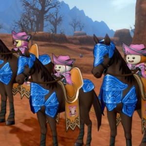【チームレベル70】馬ドルボを手に入れた青さま