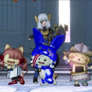 【バラシュナ1】戦士や踊り子入りで遊んだ青さま