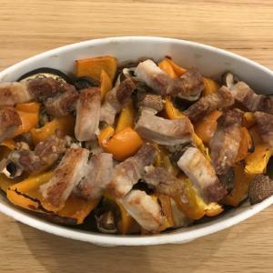 【ヘルシオ】豚肉と夏野菜ときのこのオーブン焼きがおいしすぎた!【満足度120パーセント】