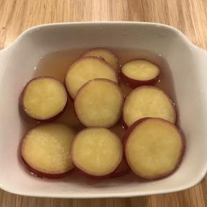 【ホットクック】ハチミツ入り「さつまいものレモン煮」は超簡単!おすすめの常備菜