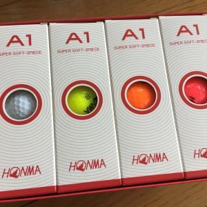 HONMAのゴルフーボール A1を買ってみた