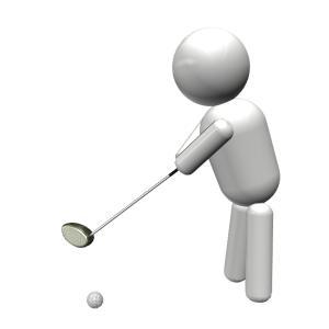 ゴルフスイング 肩の動きか?クラブの動きか?