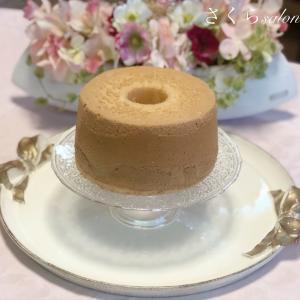 シフォンケーキをお取り寄せしました