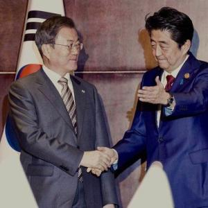 """【韓国の反応】""""韓国とは基本的価値共有する隣人"""" 6年ぶりに言及した安倍【施政方針演説】"""