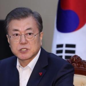 文大統領「新年の韓国経済、反発の兆し...」政府「力量集中などの成果」