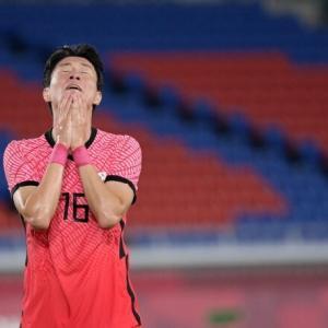 """韓国紙「""""東京自動ドア"""" 韓国サッカー、6点を許し荷物をまとめた」"""