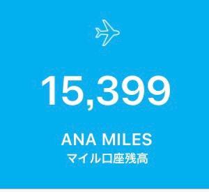 9月ANAマイル取得★結果★報告 記録です♪