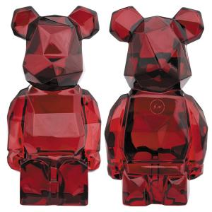 【抽選受付中!fragmentdesignはプレ値必至!】 「Baccarat BE@RBRICK fragmentdesign POLYGON RED」「R@BBRICK カリモク レイヤー 400%」が発売!