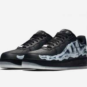 【今回もウマい!10/25(金)発売予定】NIKE AIR FORCE 1 LOW QS「BLACK SKELETON」