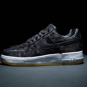 【これはヤバい!11/29(金)海外発売】Fragment x CLOT x Nike Air Force 1「Black Silk」