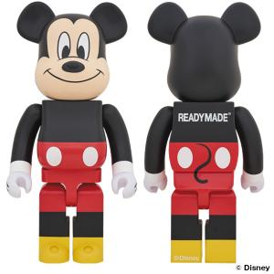 【数量限定!プレ値必至!11/30(土)】BE@RBRICK READYMADE MICKEY MOUSE 1000%