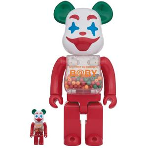【毎回プレ値!11/30(土)発売】MY FIRST BE@RBRICK B@BY Jester Ver.100% & 400% / 1000%