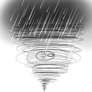 台風は怖い