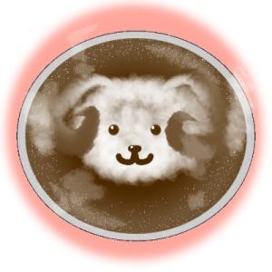 寒い日は温かいカフェラテと温かい羊毛で✨